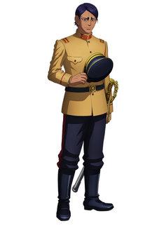 鯉登少尉の設定画。