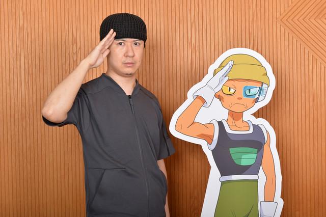 レモを演じる杉田智和。