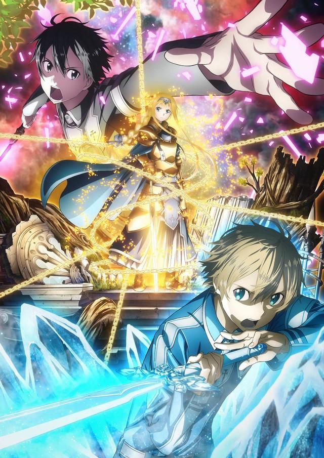 TVアニメ「ソードアート・オンライン アリシゼーション」第2弾キービジュアル