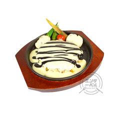 「中島敦/お好み焼きチーズフォンデュ」