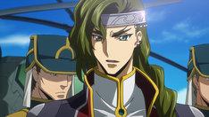 劇場アニメ「コードギアス 復活のルルーシュ」予告第1弾より、シェスタール。