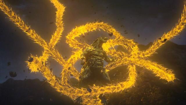 「GODZILLA 星を喰う者」の場面写真。