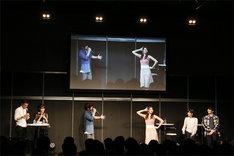「電撃文庫25周年記念 秋の電撃祭」ステージの様子。