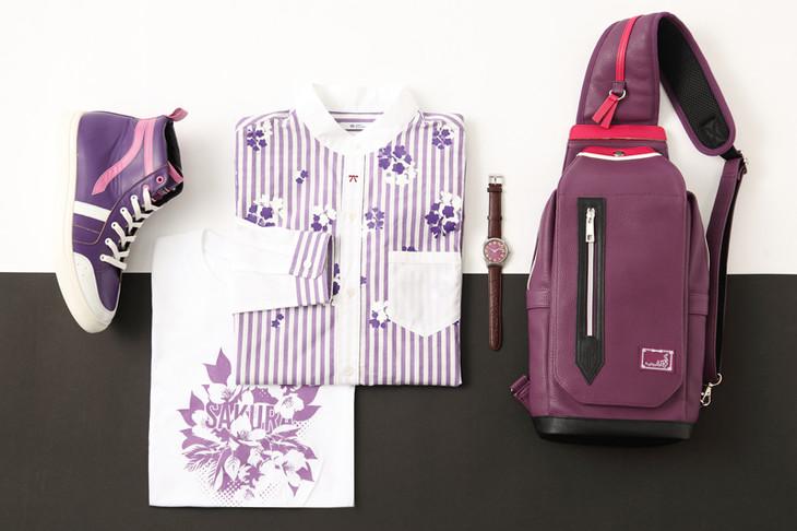 間桐桜モデルのファッションアイテム。