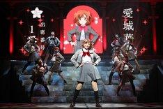「少女☆歌劇 レヴュースタァライト -The LIVE-#2 Transition」ゲネプロの様子。