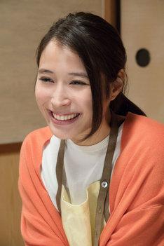 広瀬アリス演じるみち子。