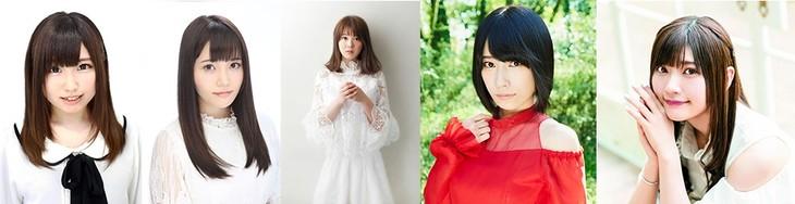 「天使の部」に出演するキャスト陣。左から鈴木愛奈、大森日雅、小坂井祐莉絵、佐々木李子、山田麻莉奈。