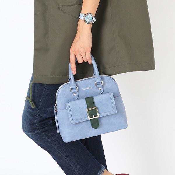工藤新一モデルのバッグ使用例。