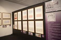 「ボンズ20周年記念展」の様子。逢坂浩司作品展示ゾーン。