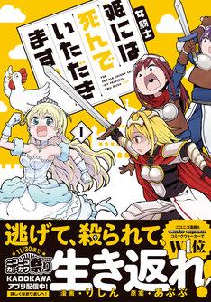 「女騎士『姫には死んでいただきます。』」1巻