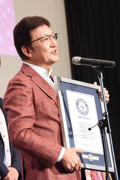 東映アニメーション社長の高木勝裕。