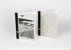 トーストで販売されている「【オリジナルツバメノート2冊セット】町田洋イラストカバーA5サイズノート」。