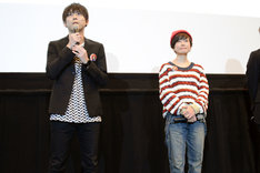 左から梶裕貴、小林由美子。