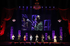 「『PERSONA5 the Animation』Masquerade Party」の様子。