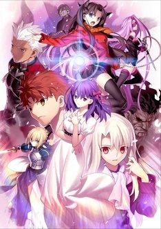 「劇場版 Fate/stay night [Heaven's Feel]I.presage flower」キービジュアル