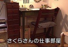 さくらももこの当時の仕事場。(c)日本放送協会 (写真提供:NHK)