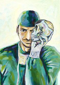 「Dr.クインチ」のカラーカット。