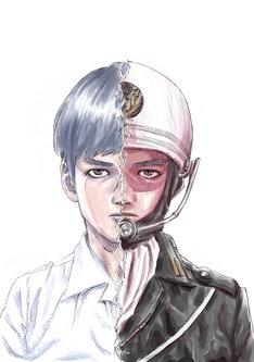 「府中三億円事件を計画・実行したのは私です。」のカット。(c)白田・MUSASHI/集英社