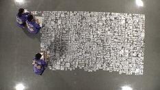 「ダークヒーローの美学 力石徹」より、力石が描かれた全1228コマ。(写真提供:NHK)