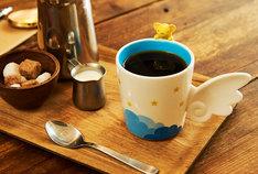 「3Dケロちゃんマグカップ」使用イメージ。