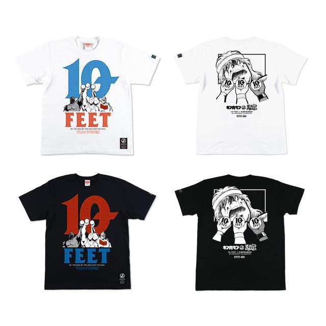 「キン肉マン」と10-FEETがコラボした「友情パワー ~正義超人~ Tシャツ」。