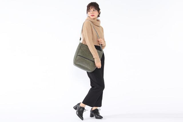 ドイツモデルのバッグの使用例。