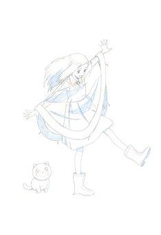 丸井グループによる新作ショートアニメーションのイメージ。