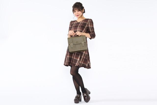 イギリスモデルのバッグの使用例。