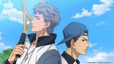 「テニスの王子様 BEST GAMES!! 乾・海堂 vs 宍戸・鳳 大石・菊丸 vs 仁王・柳生」より。