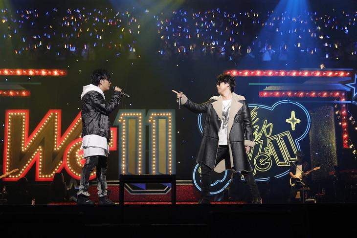 King&Rogueoneによる初ライブの様子。(撮影:草刈雅之)