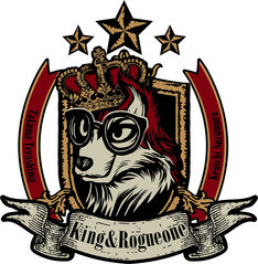 King&Rogueoneのロゴ