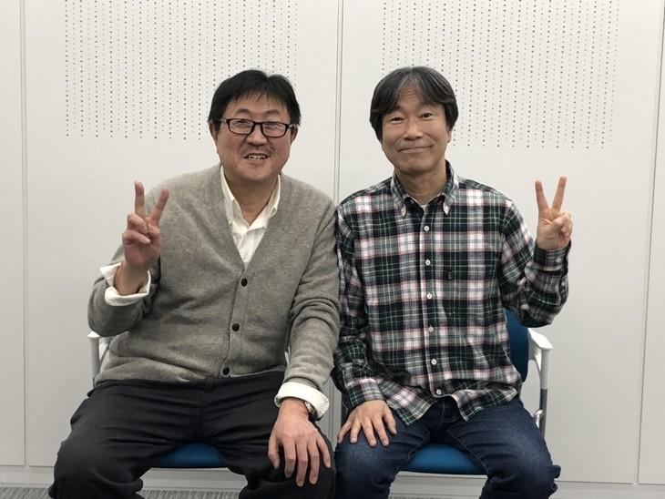 左からのむらしんぼ、沢田ユキオ。