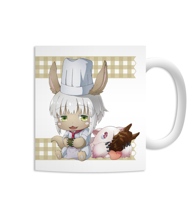 """Rabbit The Nanachi Chibi Character Mug Cup"""