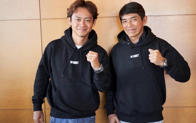 脇阪寿一氏(左)、山野哲也氏(右)。