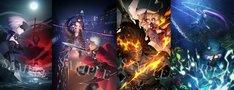 「劇場来場特典『Fate/Grand Order』 ufotable描き下ろし概念礼装」(c)TYPE-MOON・ufotable・FSNPC