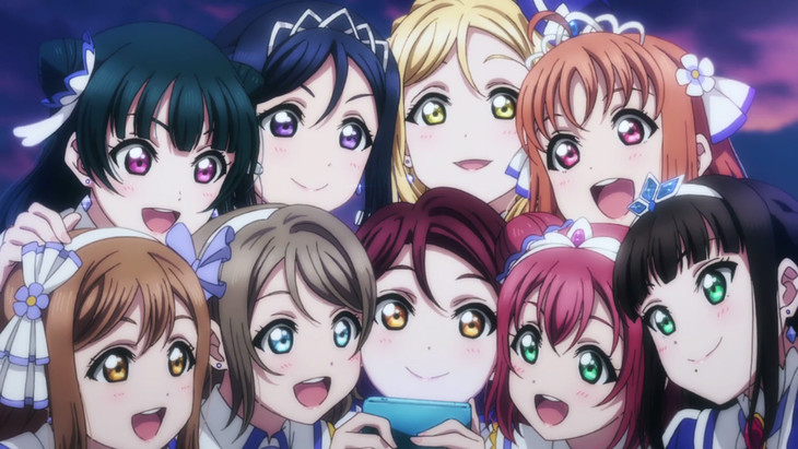 「ラブライブ!サンシャイン!! The School Idol Movie Over the Rainbow」より。