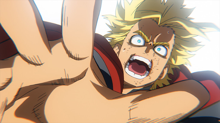 「『ALL MIGHT:RISING』THE ANIMATION」より。