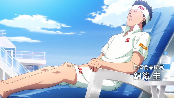 「新テニスの王子様 修行開始篇」より。