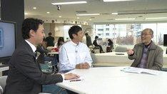 「人間ってナンだ?超AI入門」シーズン2の第3回「発想する」より。(写真提供:NHK)