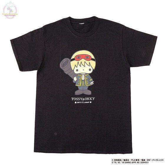 「銀魂×Sanrio characters Tシャツ / OKKY」
