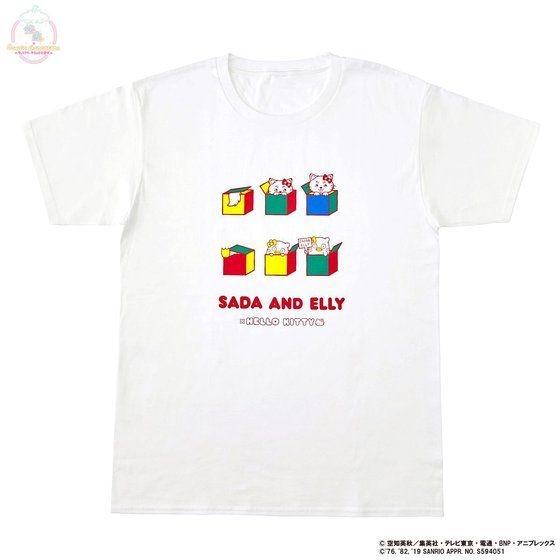 「銀魂×Sanrio characters Tシャツ / SADA AND ELLY」
