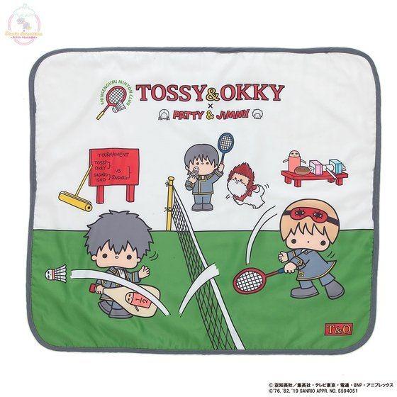 「銀魂×Sanrio characters ブランケット / TOSSY&OKKY」