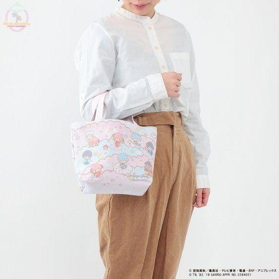 「銀魂×Sanrio characters ミニトートバッグ / Yorozuya Ginchan」使用イメージ。