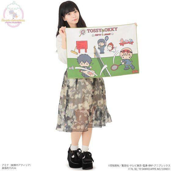 「銀魂×Sanrio characters B2フルカラータオル / TOSSY&OKKY」イメージ