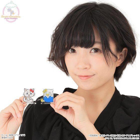 「銀魂×Sanrio characters アクリルマスコットプレート / 定春&エリザベス」イメージ
