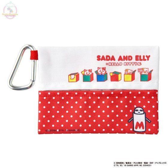 「銀魂×Sanrio characters カラビナ付ティッシュケース / SADA AND ELLY」