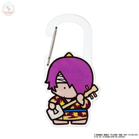 「銀魂×Sanrio characters アクリルカラビナ / 高杉晋助」
