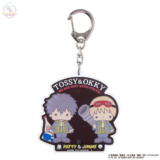 「銀魂×Sanrio characters アクリルキーホルダー / TOSSY&OKKY」
