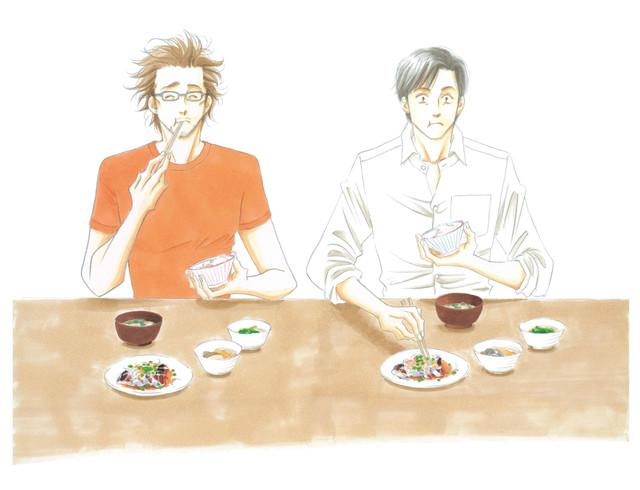 「きのう何食べた?」イラスト(c)よしながふみ/講談社