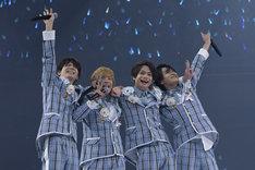 「あんさんぶるスターズ!Starry Stage 2nd ~in 日本武道館~」より、Ra*bits。